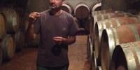 Andrea Sottimano in his cellar