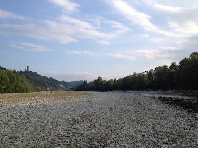 River Tanaro minus water