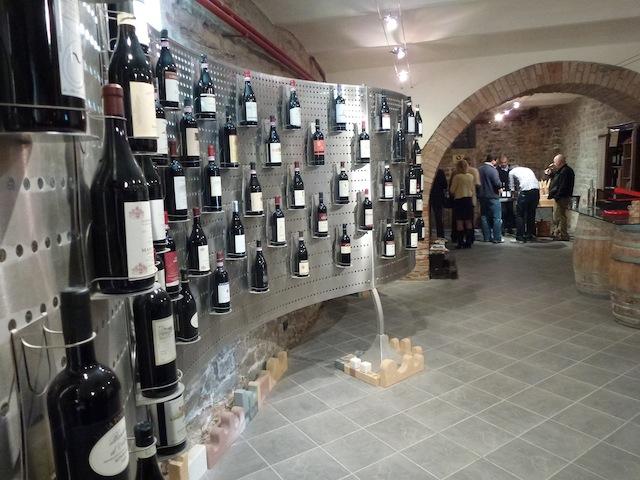 Barolo tasting at Castiglione Falleto