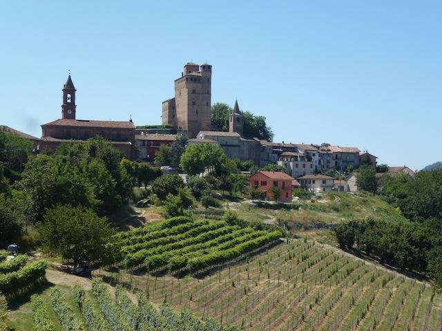 View of Serralunga from Guido Porro